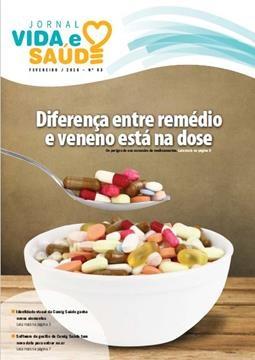 Jornal Vida e Saúde Nº 63 - Fevereiro/2016