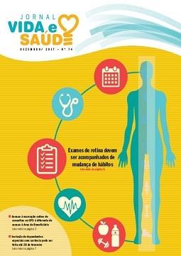 Jornal Vida e Saúde Nº 74 - Dezembro/2017
