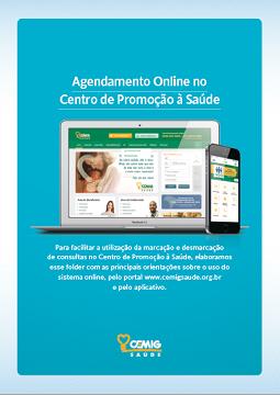 Agendamento online Centro de Promoção à Saúde