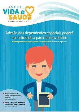Jornal Vida e Saúde Nº 73 - Outubro/2017