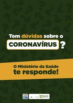 Cartilha Ministério da Saúde - Informações sobre Coronavírus.