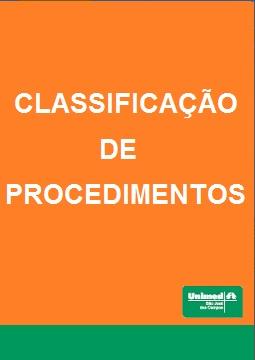 Relação e Classificação de Procedimentos