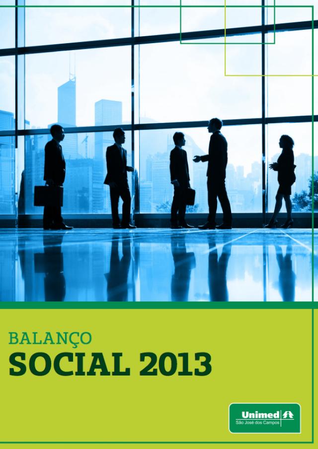 Balanço Social 2013