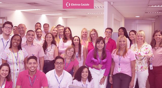 Nosso outubro é rosa. Saiba como detectar o câncer de mama, precocemente.
