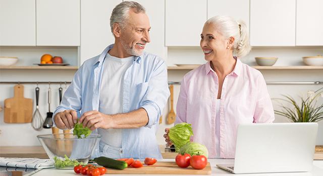 Escolha comer de forma saudável!